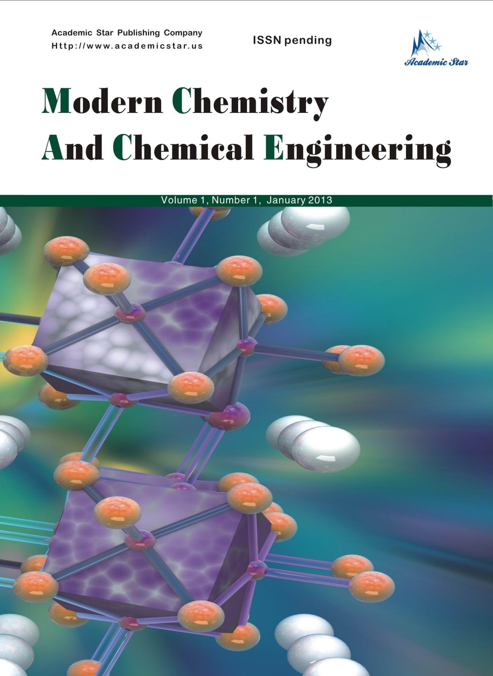 Modern Chemistry and Chemical Engineering
